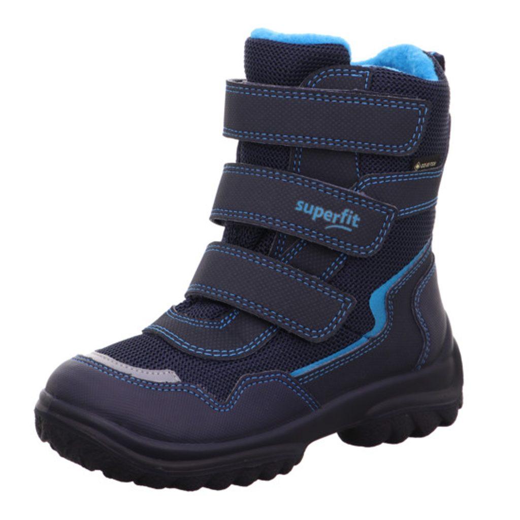 Chlapecké zimní boty SNOWCAT GTX,Superfit,1-000025-8000,modrá - 34