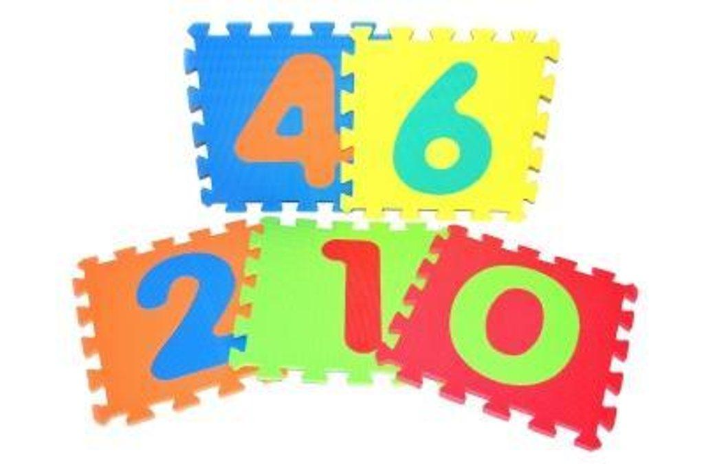 Měkké puzzle bloky, WIKY, 118620