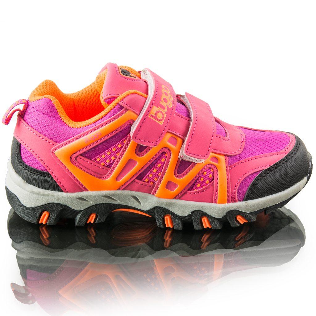 divčí outdoorové softshellové boty AKONI, Bugga, B00163-03, růžová - 38