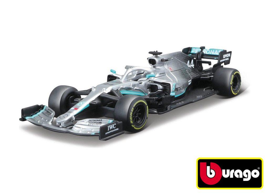 Bburago 1:43 Mercedes AMG Petronas F1 assort, Bburago, W008088