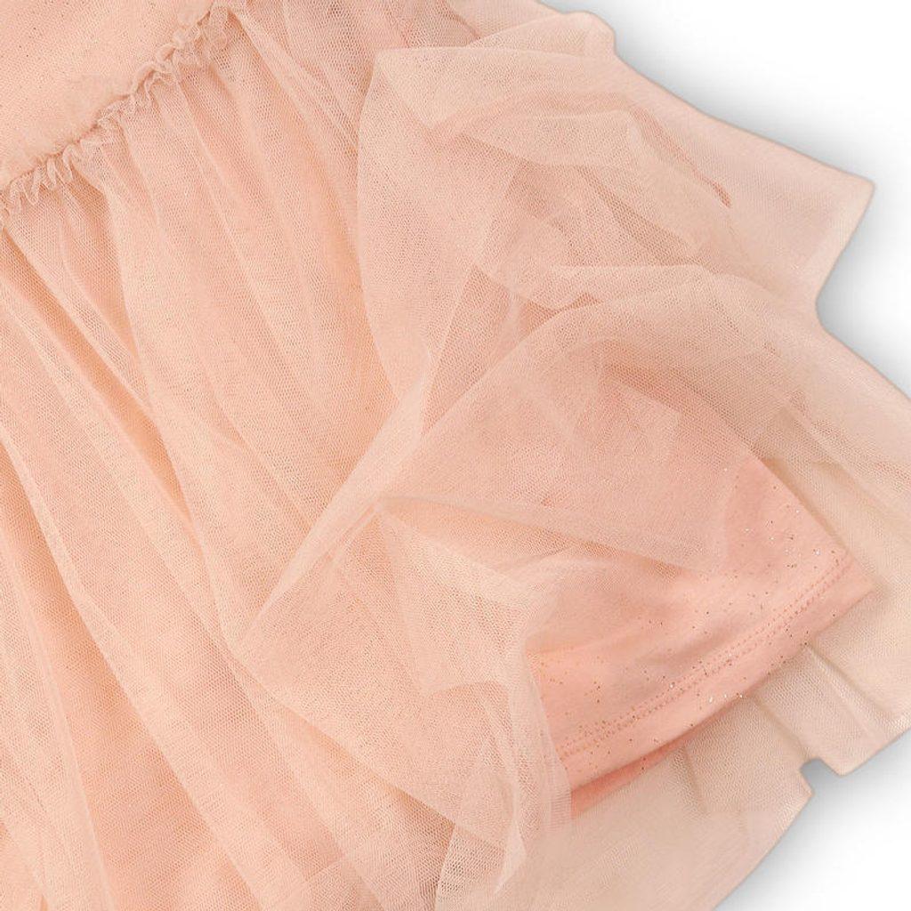 Šaty dívčí, Minoti, SHIMMER 9, růžová - 152/158