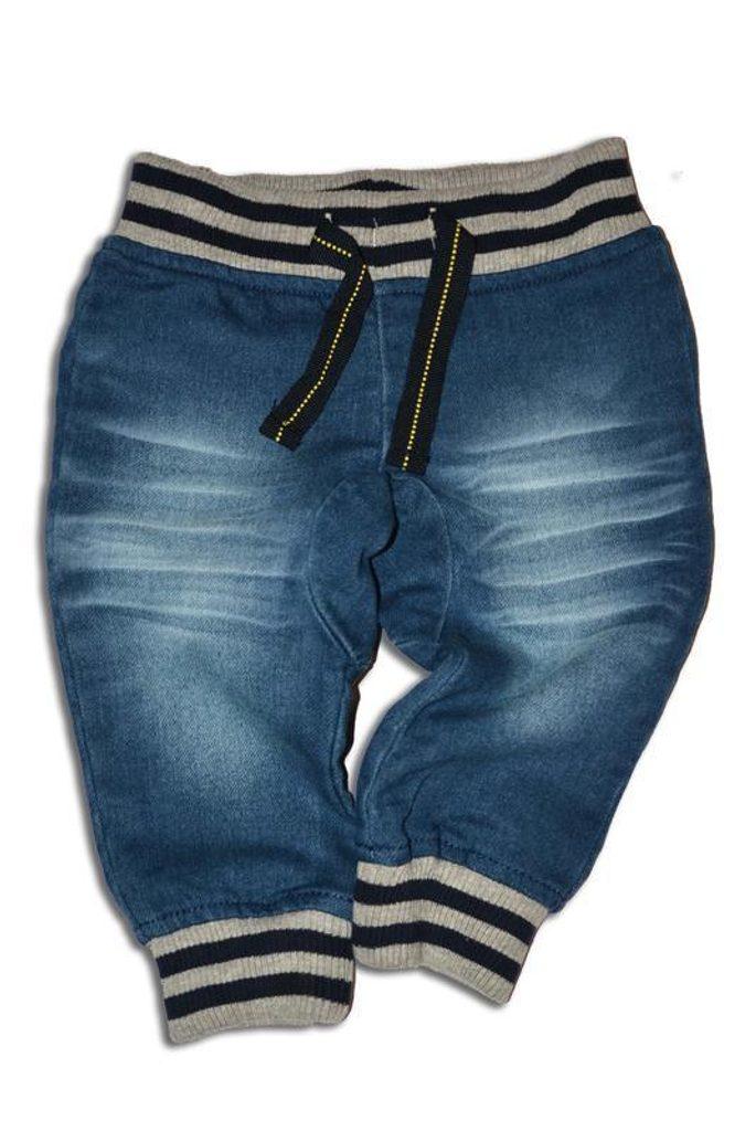 kalhoty riflové, Minoti, BUS 6, modrá - 92/98
