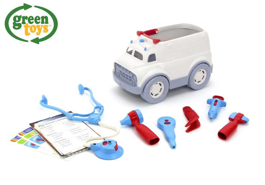 Green Toys Ambulance s lékařskými nástroji, Green Toys, W009285