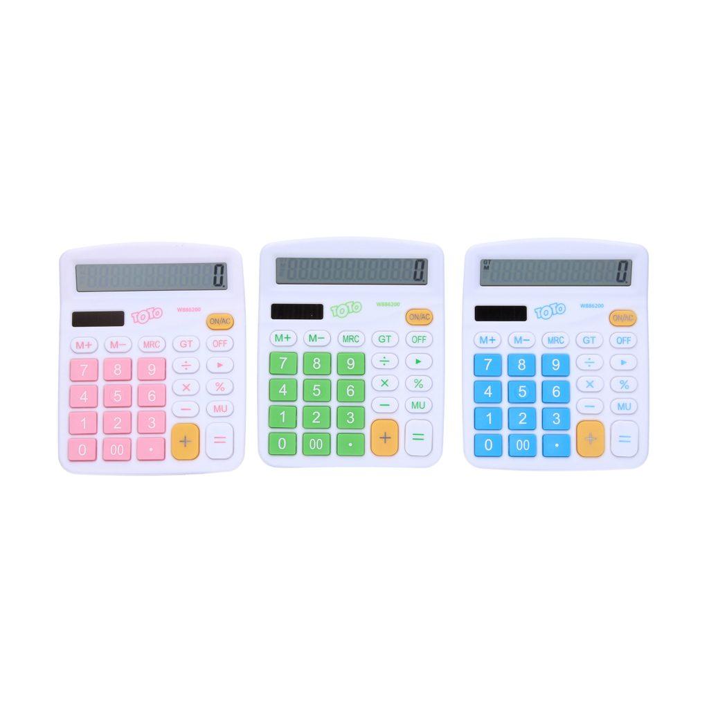Kalkulačka barevná velká, Wiky, W886200