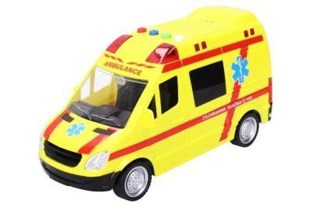 Záchranka, žluté auto s efekty, 111097