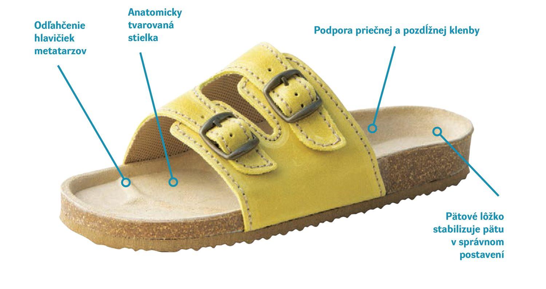 rehabilitační sandál