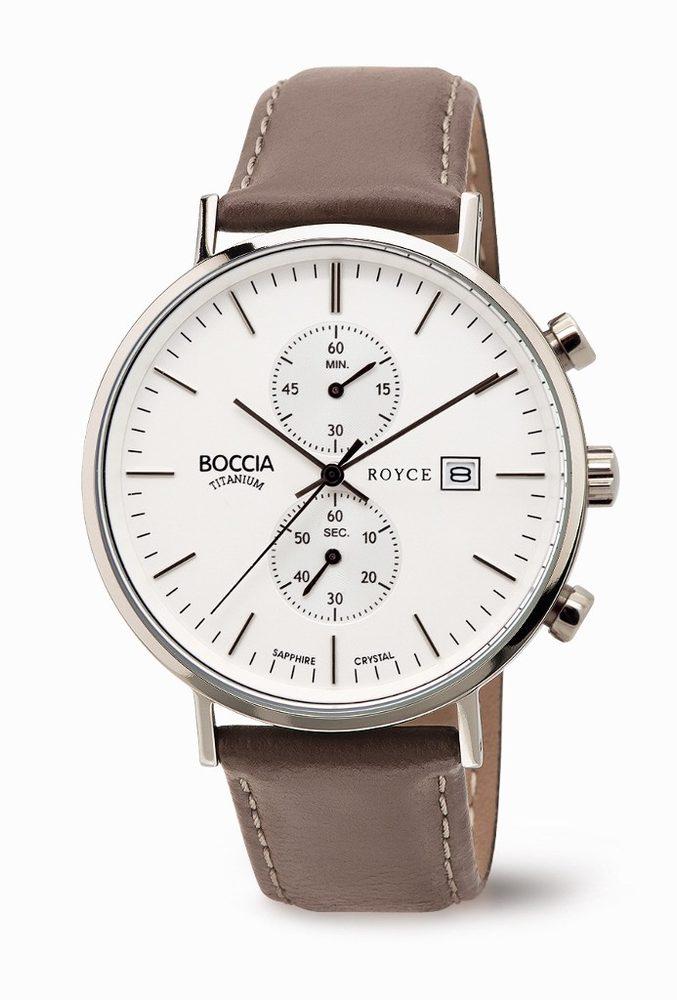 Boccia Titanium 3752-01 + 5 let záruka, pojištění hodinek ZDARMA
