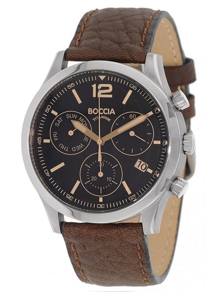 Boccia Titanium 3757-01 + 5 let záruka, pojištění hodinek ZDARMA