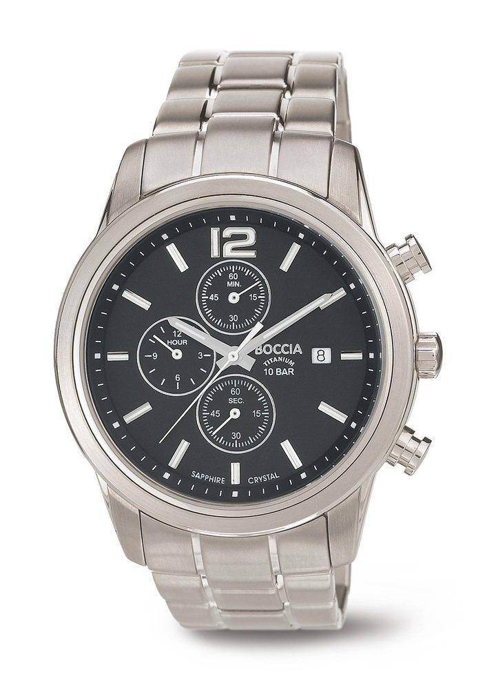 Boccia Titanium 3759-01 + 5 let záruka, pojištění hodinek ZDARMA