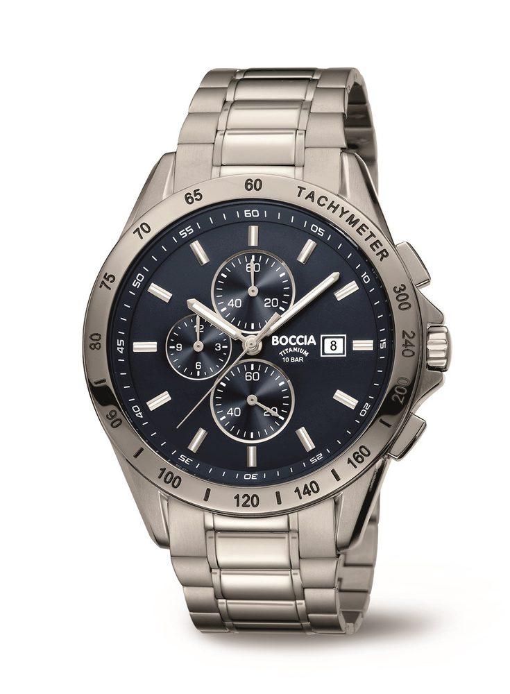 Boccia Titanium 3751-01 - Bazar + 5 let záruka, pojištění hodinek ZDARMA