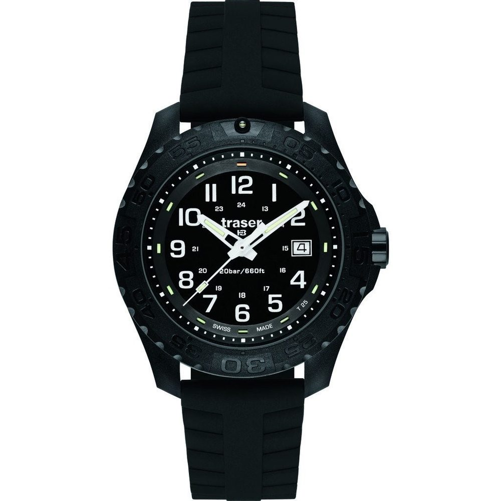 Traser Outdoor Pioneer Sapphire silikon + 5 let záruka, pojištění hodinek ZDARMA