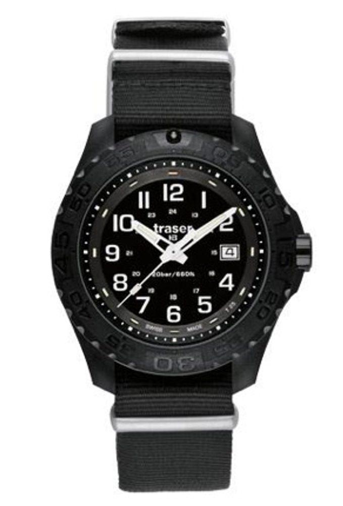 Traser Outdoor Pioneer Sapphire kůže + 5 let záruka, pojištění hodinek ZDARMA