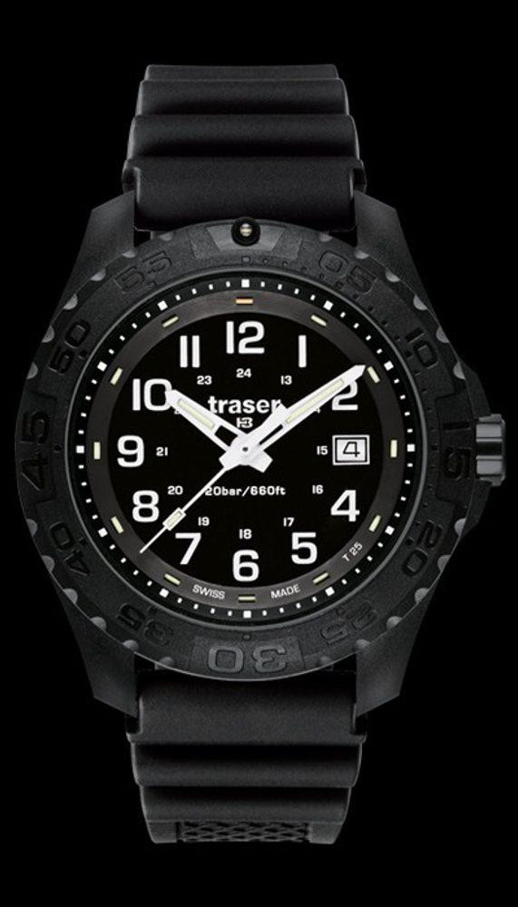 Traser Outdoor Pioneer Sapphire pryž + 5 let záruka, pojištění hodinek ZDARMA