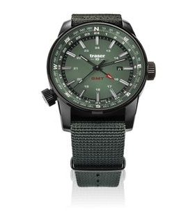 Traser P68 Pathfinder GMT Green Nato