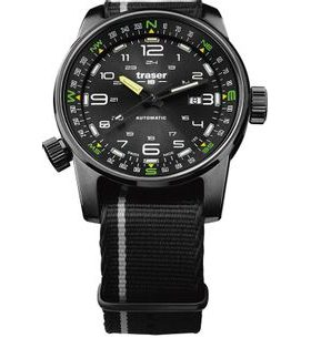 Traser P68 Pathfinder Automatic Black Nato