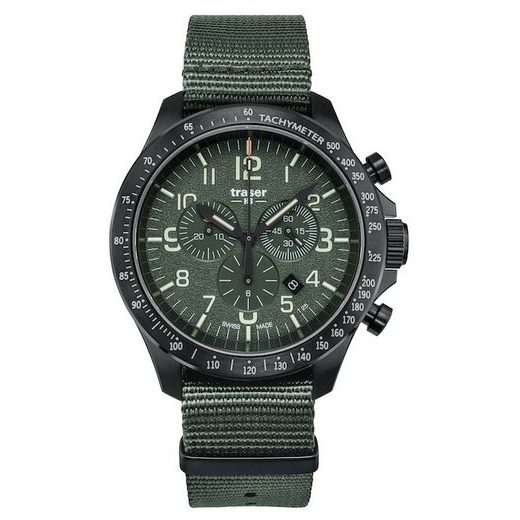 TRASER P67 OFFICER PRO CHRONOGRAPH GREEN NATO