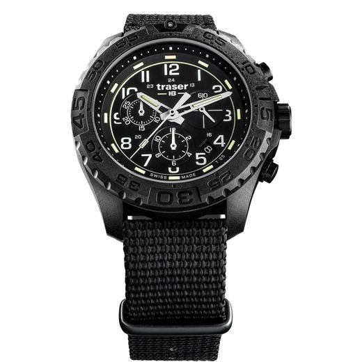 TRASER P96 OUTDOOR PIONEER EVOLUTION CHRONO BLACK NATO