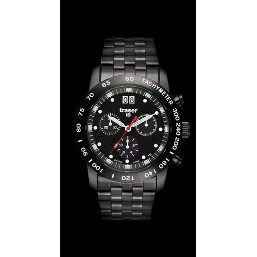 TRASER CLASSIC CHRONO BD PRO OCEL PVD