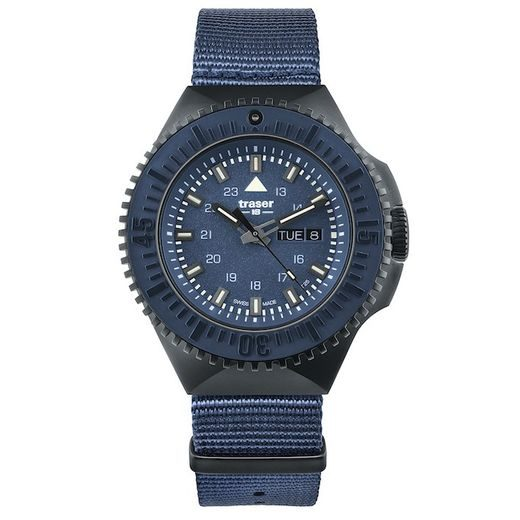 TRASER P69 BLACK STEALTH BLUE NATO