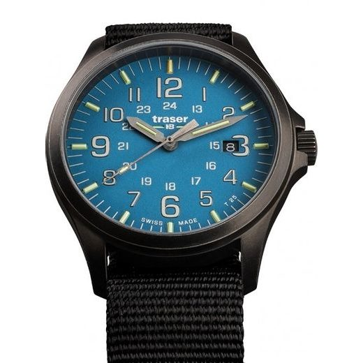 TRASER P67 OFFICER PRO GUNMETAL SKYBLUE NATO