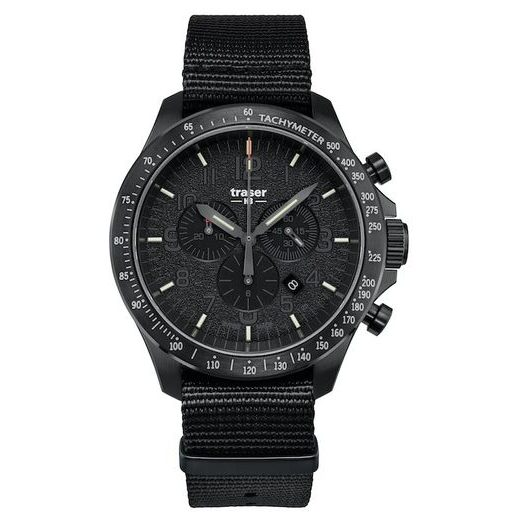 TRASER P67 OFFICER PRO CHRONOGRAPH BLACK NATO