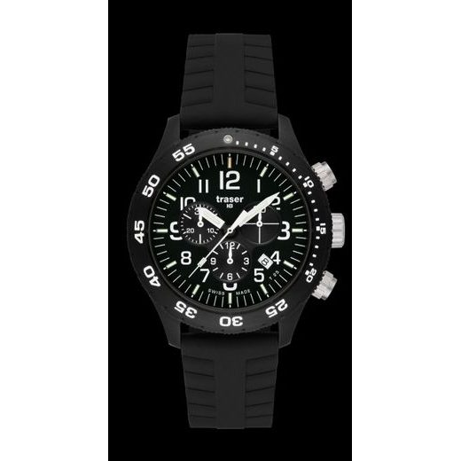 TRASER OFFICER CHRONOGRAPH PRO SILIKON