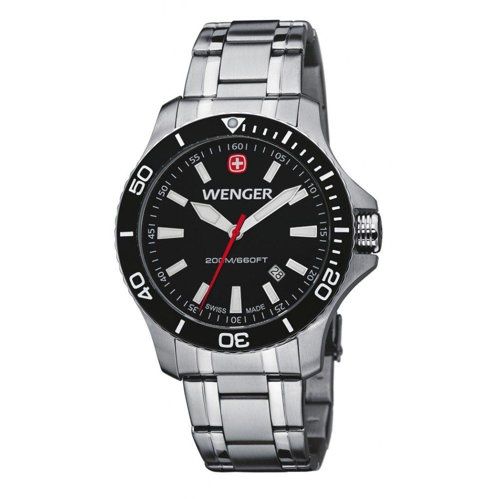 Wenger Sea Force 01.0641.105 - Bazar + 5 let záruka, pojištění hodinek ZDARMA