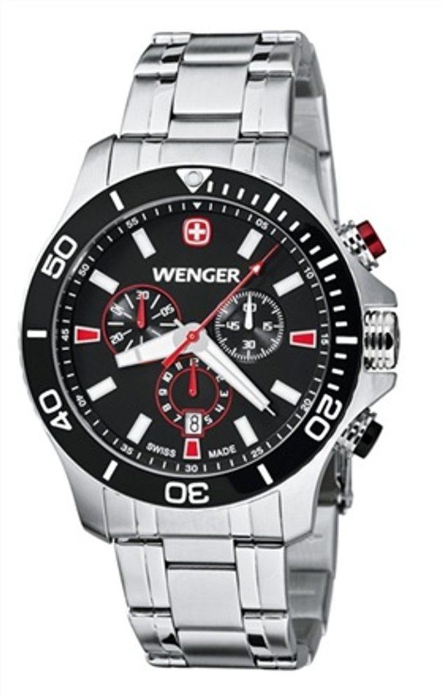 Wenger Sea Force Chrono 01.0643.101 + 5 let záruka, pojištění hodinek ZDARMA