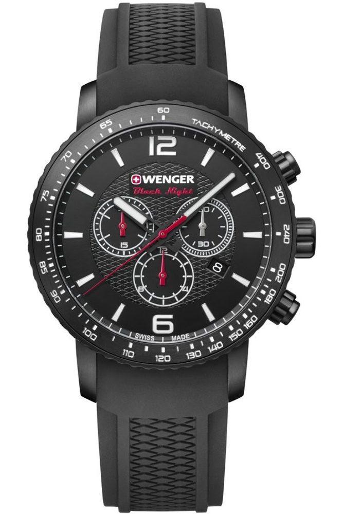 Wenger Roadster Black Night Chrono 01.1843.102 + 5 let záruka, pojištění hodinek ZDARMA