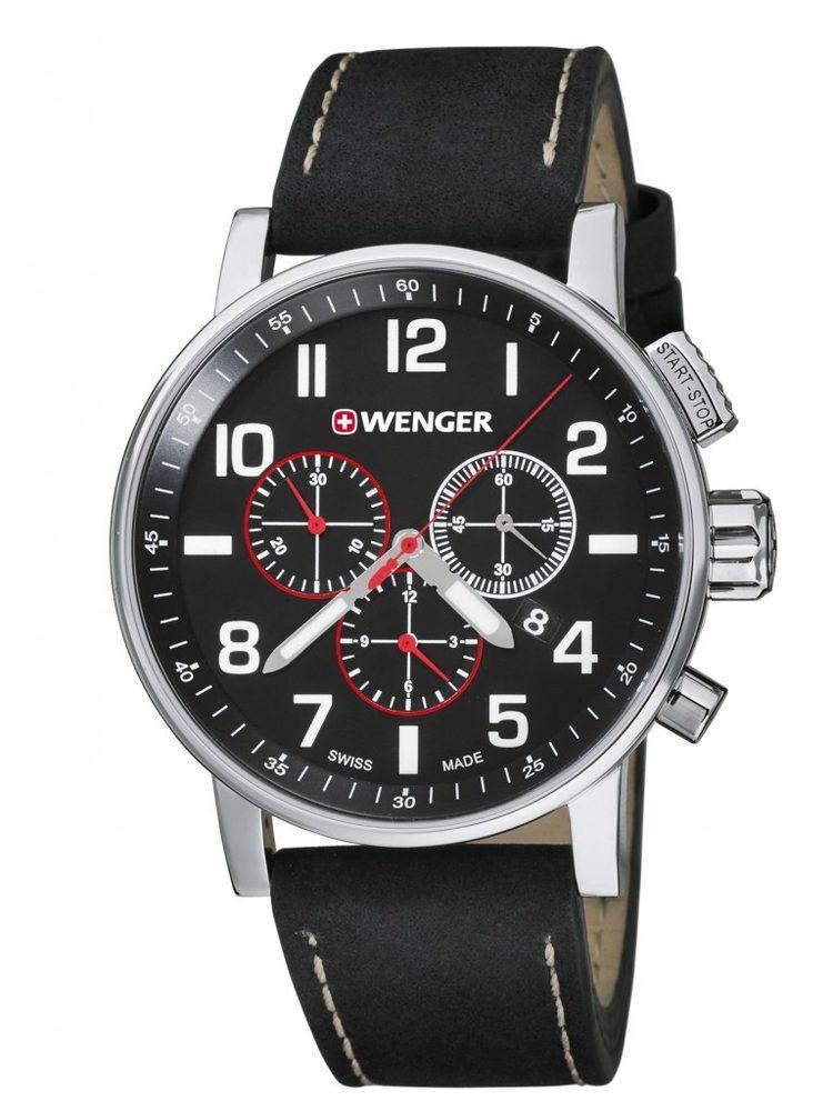 Wenger Attitude Chrono 01.0343.102 + 5 let záruka, pojištění hodinek ZDARMA
