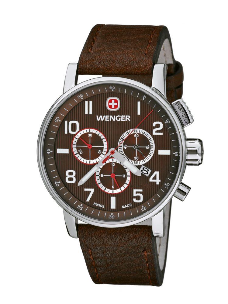 Wenger Commando Chrono 01.1243.102 + 5 let záruka, pojištění hodinek ZDARMA