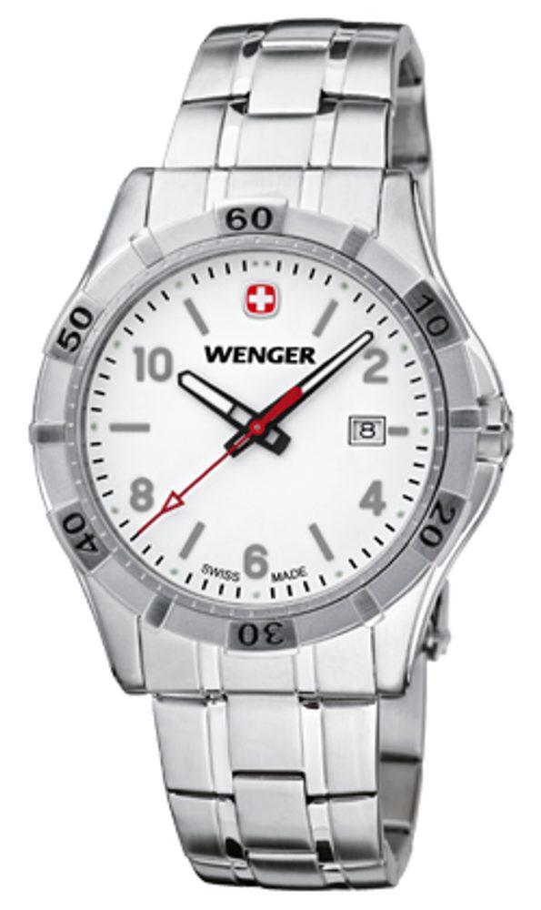 Wenger Platoon 01.0941.102 + 5 let záruka, pojištění hodinek ZDARMA