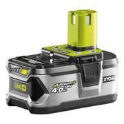 RYOBI, RYOBI RB18L40 - 18 V LITHIUM IONTOVÁ BATERIE 4,0 AH ONE+ - AKU PROGRAM ONE+