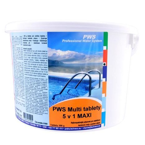PWS Multi tablety 5v1 MAXI 3kg