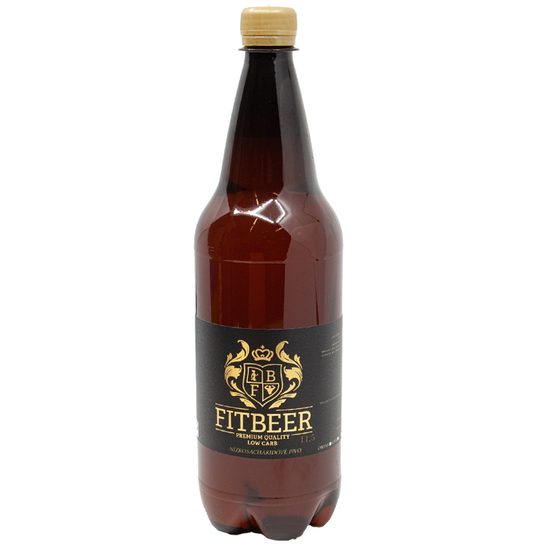 Low Carb Pivo Fit Beer PET 1,5l - světlý ležák