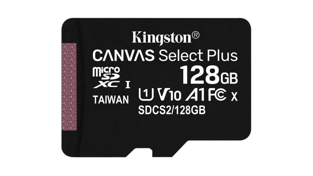 KINGSTON Canvas Select Plus 128GB micro SDXC