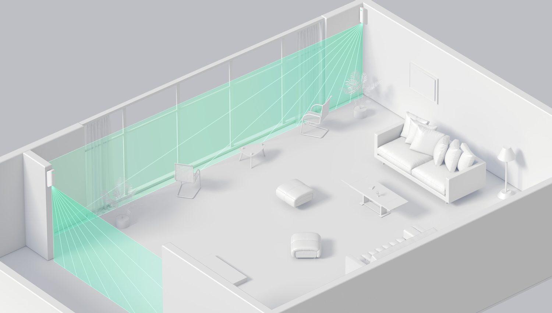 Domácí prostředí - Curtain