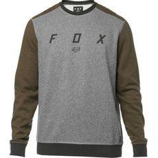Pánská mikina Fox Destrakt Crew Fleece Heather Graphite
