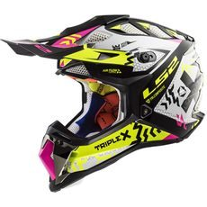LS2 MX470 SUBVERTER Black Pink H-V Yellow