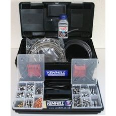 Dealer kit Venhill POWERHOSE -3DLRC chrom