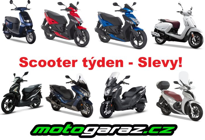 Scooter týden - SLEVY!