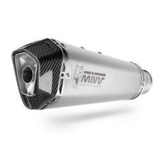 Full exhaust system MIVV DELTA RACE H.072.LDRX Stainless Steel / Carbon cap