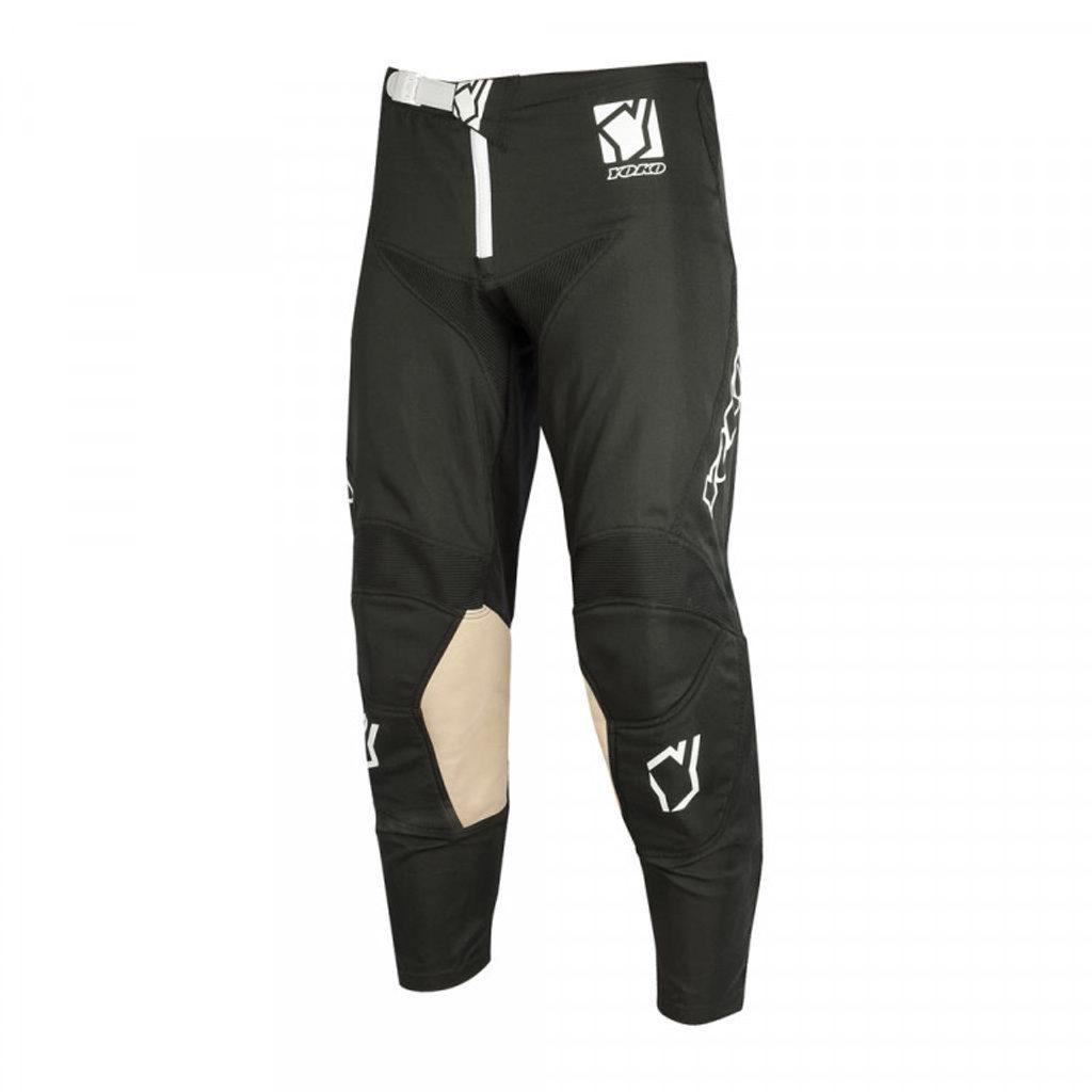 Motokrosové detské nohavice YOKO SCRAMBLE čierna