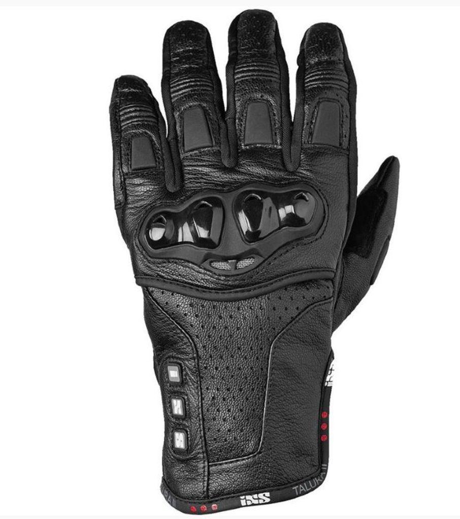 IXS Kožené rukavice Talura II - čierne
