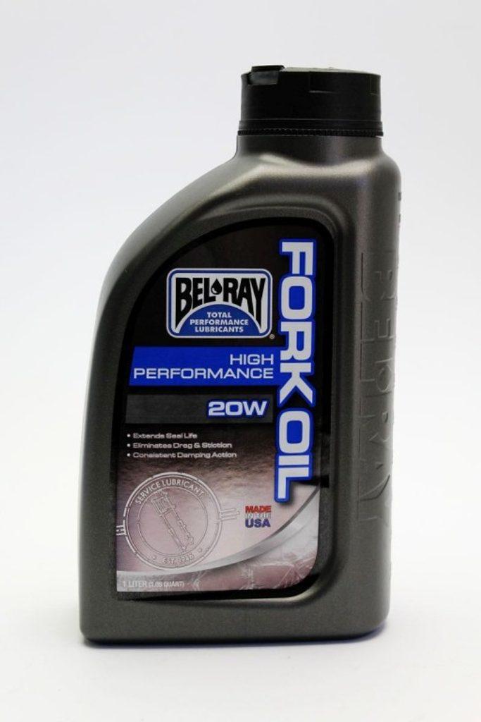 Tlmičový olej Bel-Ray HIGH PERFORMANCE FORK OIL 20W 1l