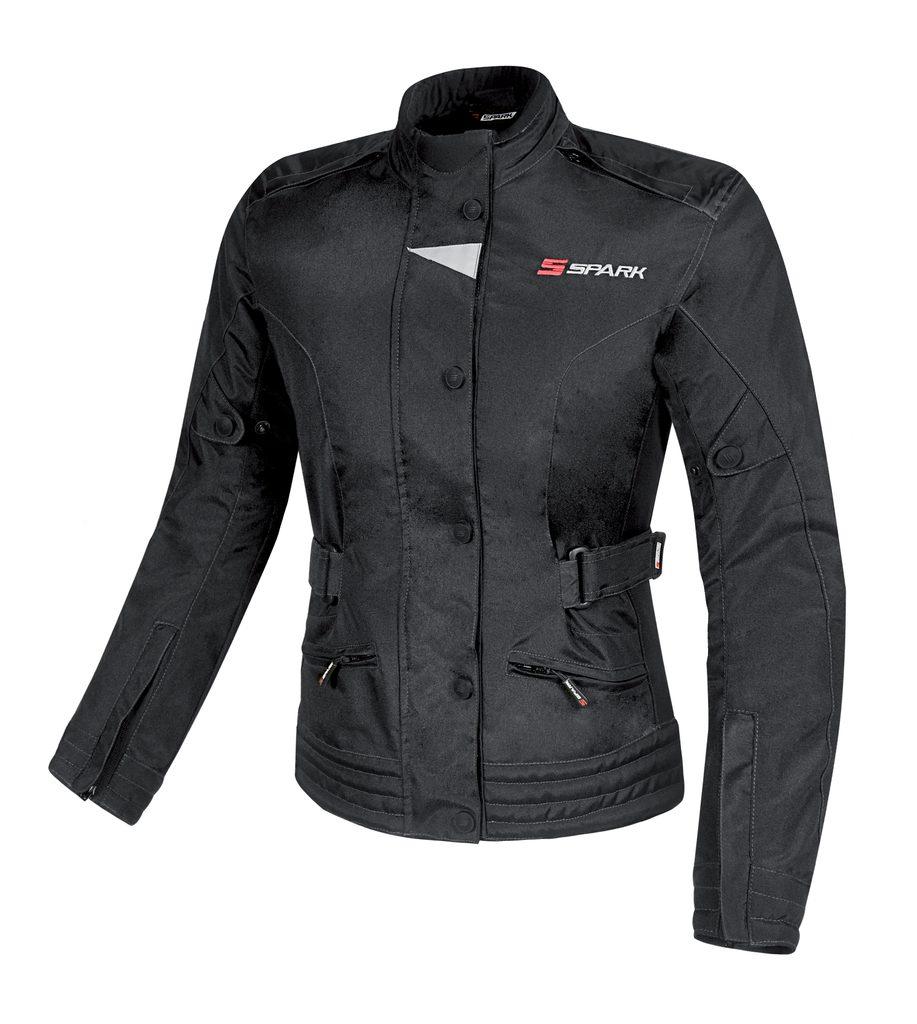 Dámská textilní moto bunda Spark Donna, černá