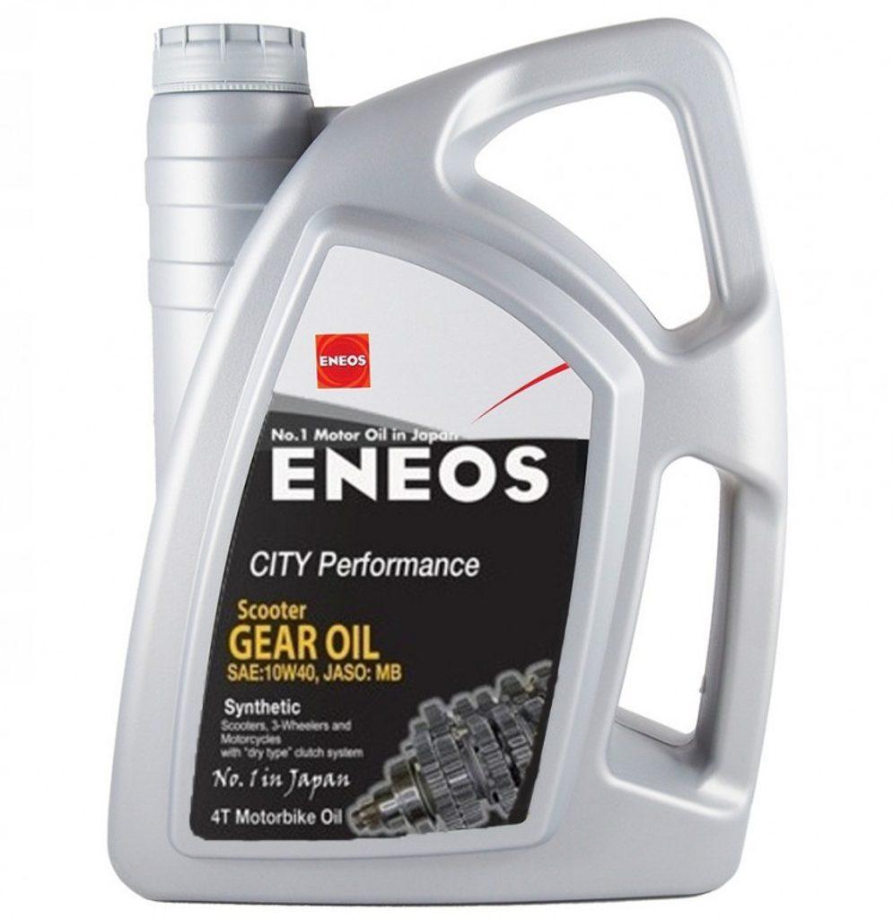 Prevodový olej ENEOS CITY Performance Scooter GEAR OIL E.CPGEAR/4 4l