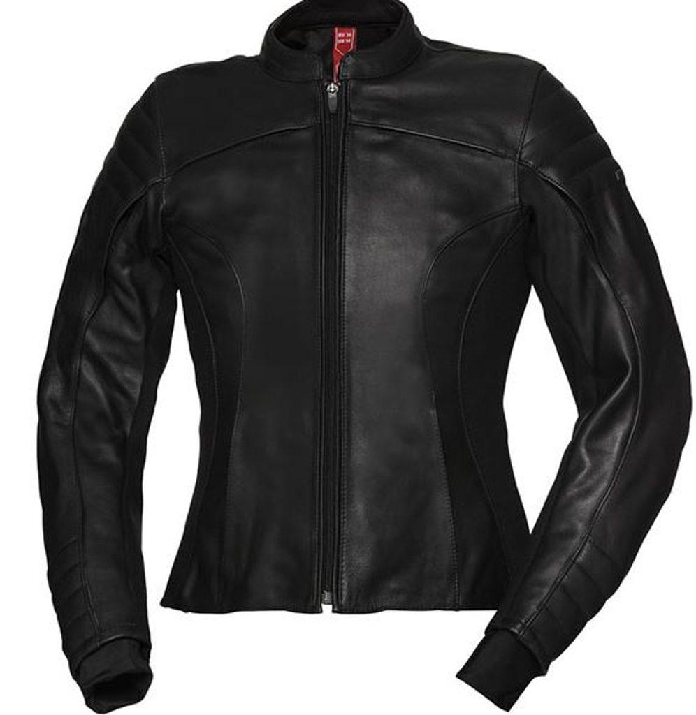 Dámska kožená bunda IXS ANNA BLACK