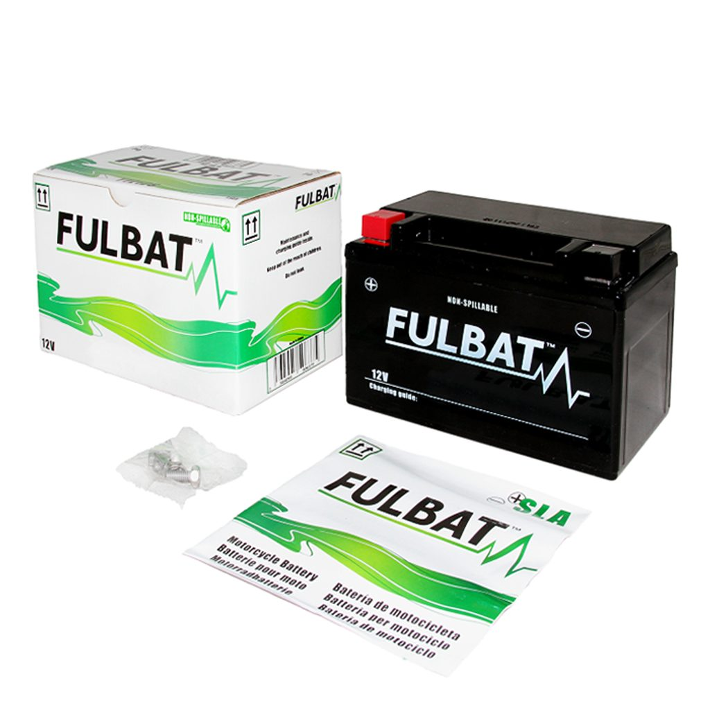 Bezúdržbový motocyklový akumulátor FULBAT FT9B-4 (YT9B-4)