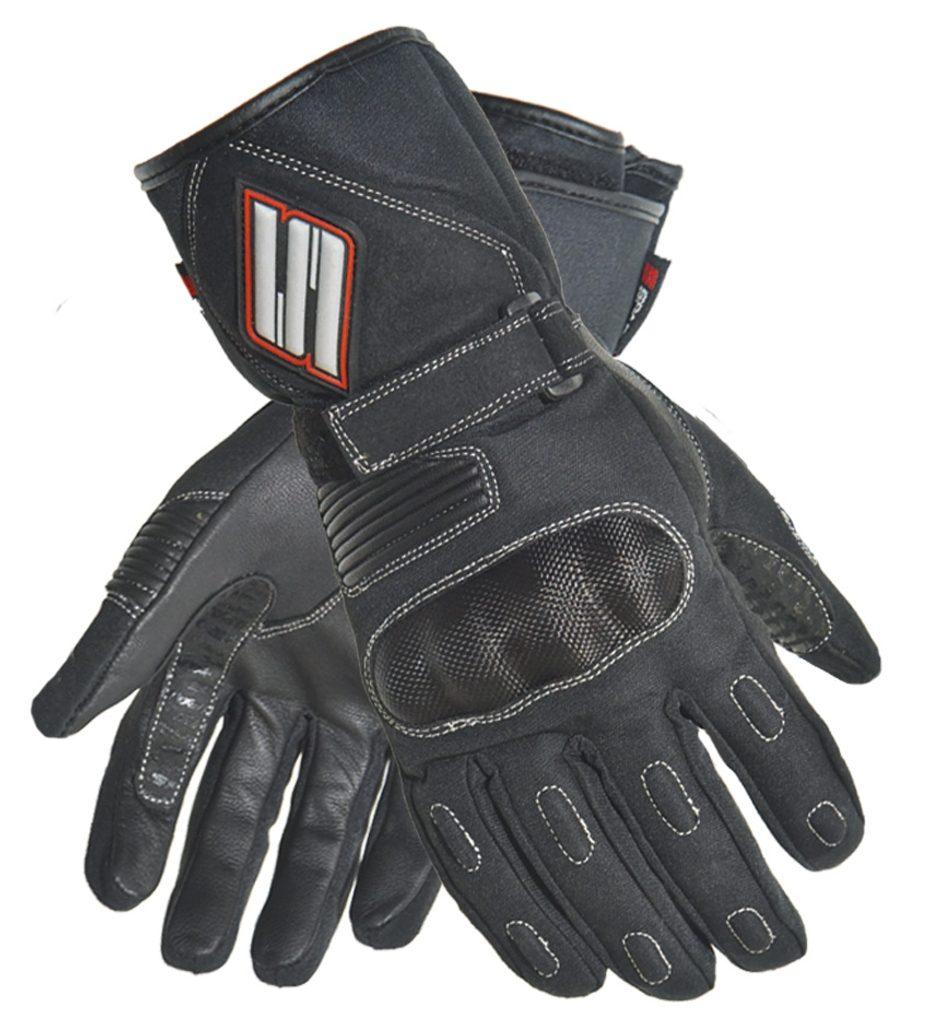 Dámske textilné moto rukavice Spark Lady Vista, čierne